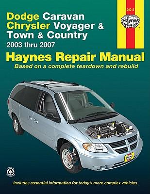 Dodge Caravan, Chrysler Voyager and Town & Country Automotive Repair Manual By Wegmann, John/ Haynes, John Harold